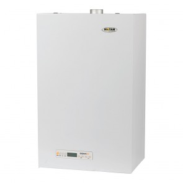 Lateral Centrala termica Motan SIGMA ERP 31 kW pentru preparare ACM si incalzire