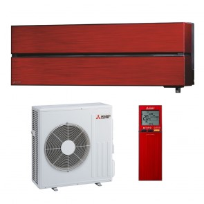 Sistem aparat de aer conditionat Mitsubishi Electric MSZ-LN50VGR-MUZ-LN50VGHZ Inverter 18000 BTU Ruby Red