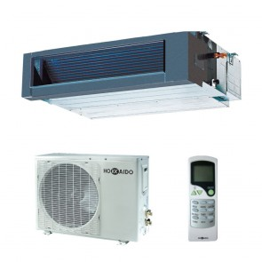 Sistem complet Aer conditionat tip duct Hokkaido HUCI 538 X-HCKI 538 X Inverter 18000 BTU