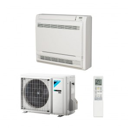 Sistem complet aparat de aer conditionat tip consola Daikin Bluevolution FVXM25F-RXM25M9 Inverter 90000 BTU