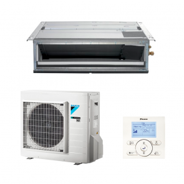 Sistem complet Aparat de aer conditionat tip duct Daikin Bluevolution FDXM50F-RXM50M Inverter 18000 BTU