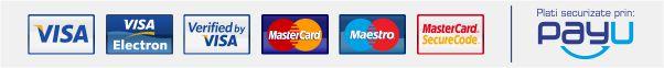 Plata online cu cardul prin payU