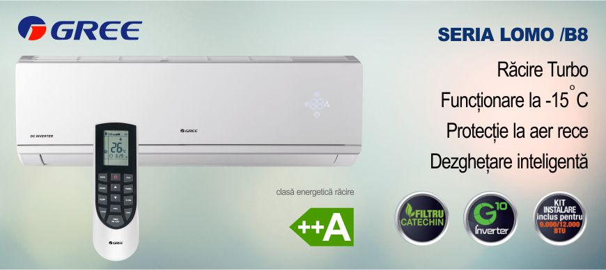 Promotie Aer Conditionat Gree Inverter