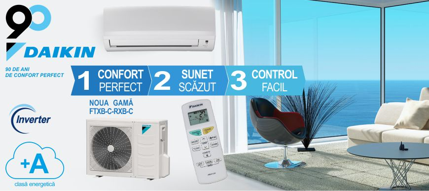 Super promotie aer conditionat inverter Daikin