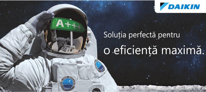 Aer conditionat inverter Daikin performanta maxima A+++