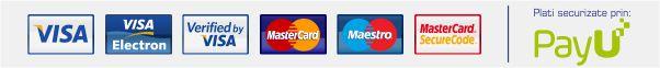 Plata online cu cardul prin payU plata in rate Climatico