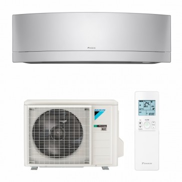 Aparat de aer conditionat Daikin Emura Bluevolution FTXJ20MS-RXJ20M Inverter 7000 BTU Silver