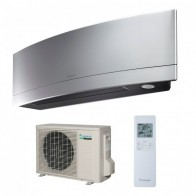 Aparat de aer conditionat Daikin Emura Bluevolution R-32 FTXJ35MS+RXJ35M Inverter  12000 BTU Silver