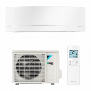 Aparat de aer conditionat Daikin Emura Bluevolution FTXJ25MW-RXJ25M Inverter 9000 BTU White