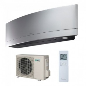 Aparat de aer conditionat Daikin Emura Bluevolution R-32 FTXJ25MS+RXJ25M Inverter  9000 BTU Silver