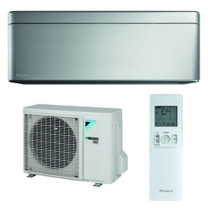 Aparat de aer conditionat Daikin Stylish Bluevolution FTXA25AS-RXA25A Inverter 9000 BTU Silver