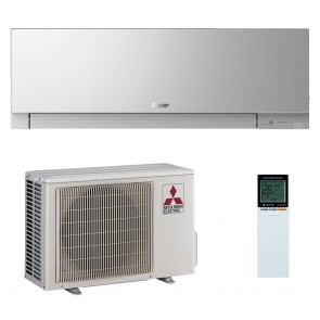 Aer conditionat Mitsubishi Electric Kirigamine Zen Silver MSZ-EF25VE2S-MUZ-EF25VE Inverter 9000 BTU