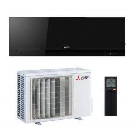 Sistem complet Aparat de aer conditionat Mitsubishi Electric Kirigamine Zen Black MSZ-EF25VGB-MUZ-EF25VG Inverter 9000 BTU