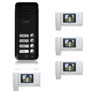 Kit videointerfon Commax CNM-4F