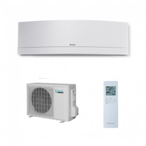 Aparat de aer conditionat Daikin Emura Bluevolution R-32 FTXJ25MW+RXJ25M Inverter  9000 BTU White