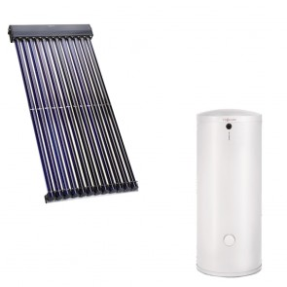 Panou solar Viessmann Vitosol 200-T cu boiler bivalent Vitocell 400 litri