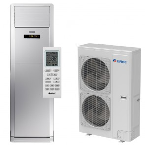 Sistem Aparat de aer conditionat tip coloana Gree Fresh Wind GVH48AH-M3DNA5A Inverter 42000 BTU