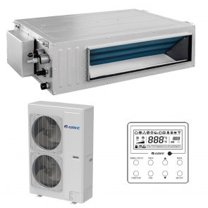 Sistem Aparat de aer conditionat tip duct Gree Ultra Thin R32 GUD125PH-A-T-GUD125W-NhA-T Inverter 42000 BTU