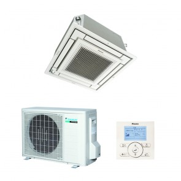 Sistem complet aparat de aer conditionat tip caseta Daikin SkyAir FFQ50C-RXS50L Inverter 18000 BTU