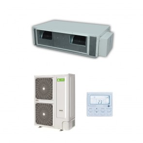 Sistem aparat de aer conditionat tip duct Chigo Hi-Tech V252W-ZR1B-V252TH-HR DC Inverter 90000 BTU