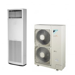 Sistem complet Aer conditionat tip coloana Daikin SkyAir FVQ140C-RZQG140L9V1 High Inverter 45000 BTU