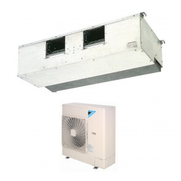 Sistem complet Aer conditionat tip duct Daikin SkyAir FDQ125C-RZQSG125L8V1 Inverter 40000 BTU