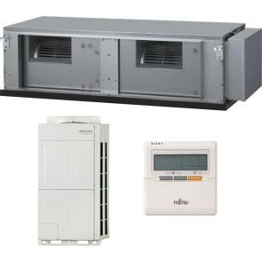 Sistem complet Aer conditionat tip duct Fujitsu ARYC90LHTA-AOYA90LALT 85000 BTU