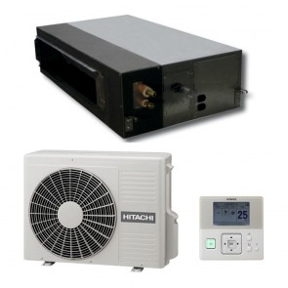 Sistem complet Aer conditionat tip duct Hitachi RPI-3.0FSN4E-RAS-3HVRNS3 24000 BTU