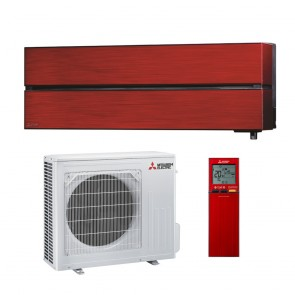 Sistem aparat de aer conditionat Mitsubishi Electric MSZ-LN50VGR-MUZ-LN50VG Inverter 18000 BTU Ruby Red