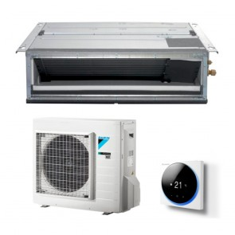 Sistem complet Aparat de aer conditionat tip duct Daikin Bluevolution FDXM25F9-RXM25N9 Inverter 9000 BTU