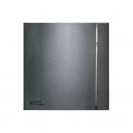 Ventilator de extractie pentru baie Soler & Palau Silent 100 CZ Grey Design 4C