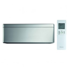 Unitate interna tip split de perete Daikin Stylish Bluevolution FTXA35AS 12000 BTU Silver