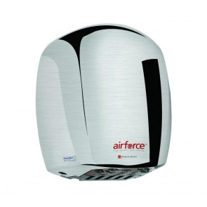 Uscator de maini World Dryer AIRFORCE Argintiu satinat 1100 W
