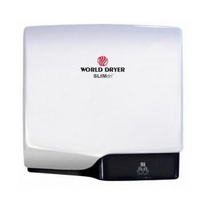 Uscator de maini World Dryer SLIMDRI Alb 950 W