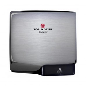 Uscator de maini World Dryer SLIMDRI Argintiu satinat 950 W