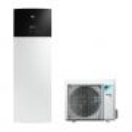 Pompa de caldura pentru incalzire, racire si apa calda menajera Daikin Altherma 3 R F 4kW EHVX04S18E3V-ERGA04EV cu rezervor de 180L