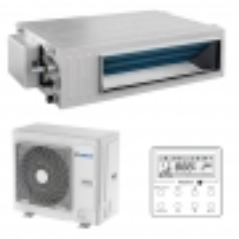 Aparat de aer conditionat tip duct Gree Ultra Thin R32 GUD100PH-A-T-GUD100W-NhA-T Inverter 34000 BTU