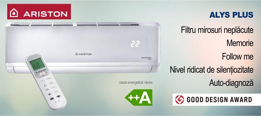 Promotie aer conditionat Ariston Alys Plus Climatico