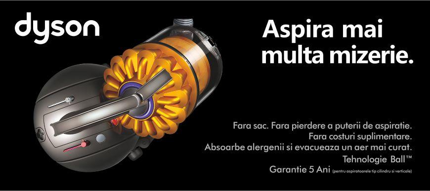Noua gama de aspiratoare Dyson