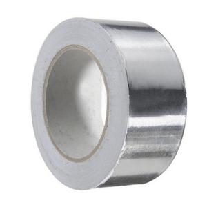Banda de aluminiu, de culoare argintie, pentru protectia traseului frigorific la exterior