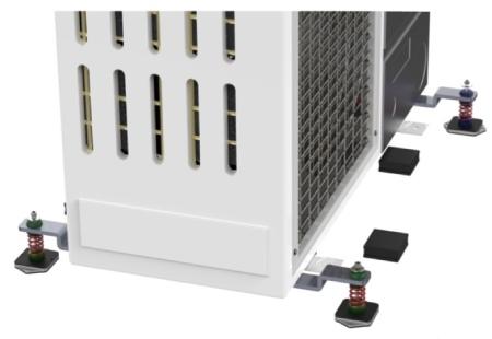 Amortizoare vibratii Senor SE-TBMF pentru unitati exterioare