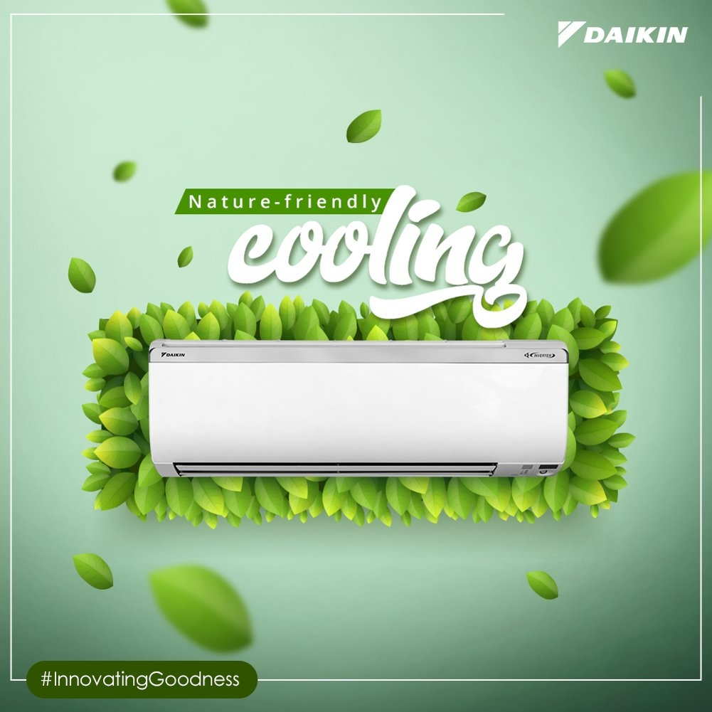Daikin - Nature friendly cooling
