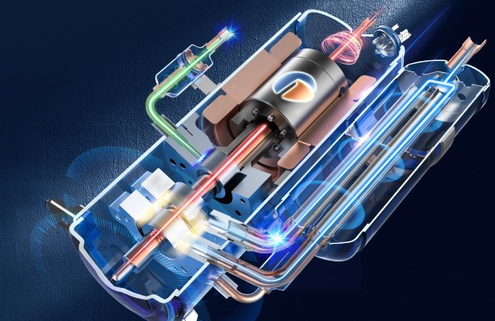 Двухступенчатый компрессор