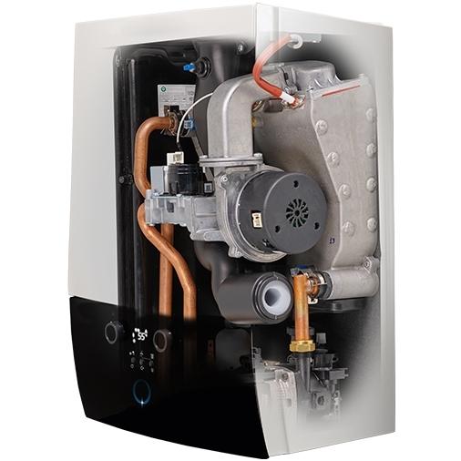 Interior Centrala termica in condensatie Daikin D2CND028A1A pentru preparare ACM si incalzire 28 kW