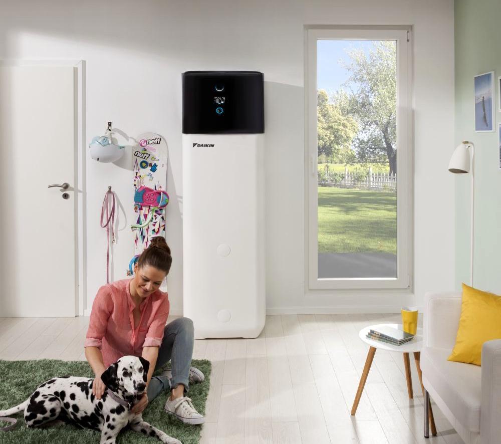 Pompa de caldura - Daikin Altherma 3 R ECH2O EHSH-D - ambient interior