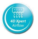 Al saselea simt 4D Airflow - Aparat de aer conditionat Whirlpool Premium R32 SPIW312A3WF Inverter 12000 BTU