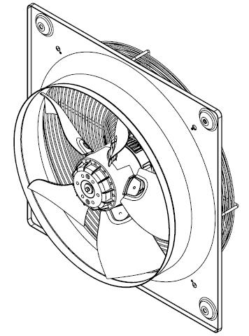 Schita ventilator HXTR
