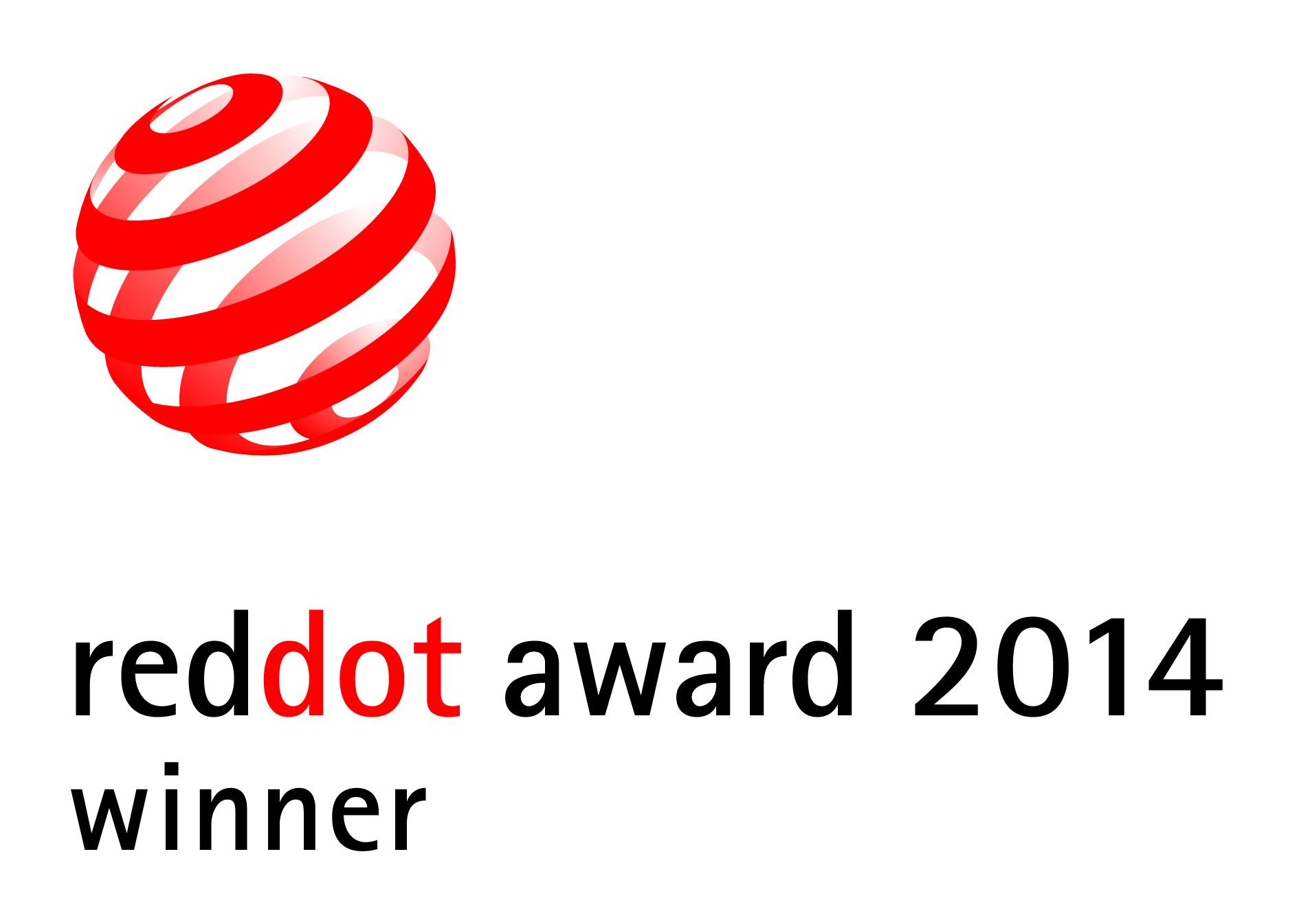 Reddot design award winner 2014