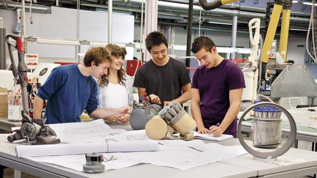 Proiectare tehnologie aspiratoare Dyson